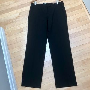 Judith and Charles black lightweight wool trouser